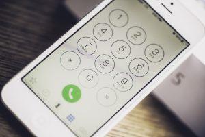 電話番号をチェック