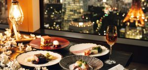 夜桜ディナー at さくらガーデン