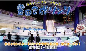氷じゃないスケートリンク 豊田合成リンク