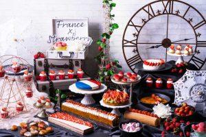 『Travel 4 Strawberries』~世界を旅するストロベリースイーツビュッフェ~