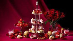 旬の苺と情熱的な愛 アフタヌーンブッフェ「ストロベリーアモーレ」