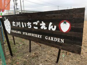 広川いちご園 いちご狩り