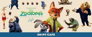 ZOOTPIA OH MY CAFE