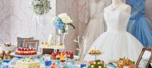 プリンセスを夢見る女の子があこがれる、可愛いWeddingの世界観を表現したデザートビュッフェ~Girl's Sweets Wedding~