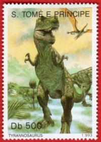 「恐竜~切手で見る古生物図鑑~」展