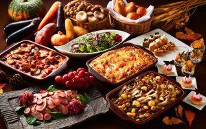 秋の食彩まつり ランチブッフェ