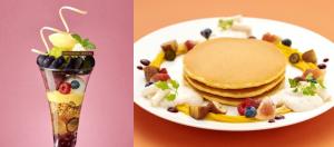 季節のパンケーキ・パフェ