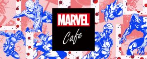 「MARVEL」cafe produced by OH MY CAFE