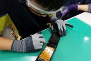 サイエンジャー科学教室「自分の手で、携帯電話を分解しよう!」